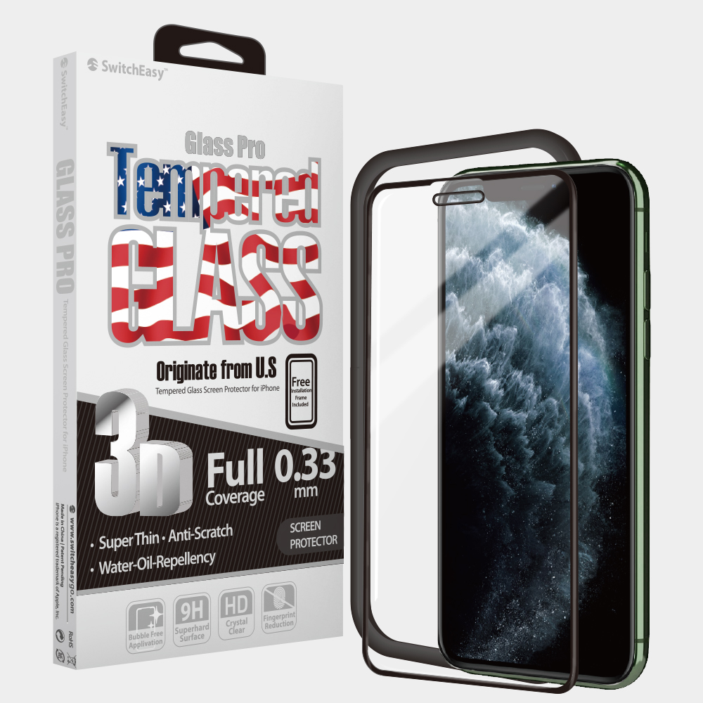 Kính Cường Lực SwitchEasy iPhone 11 Pro Max Glass Pro Glass Screen Protector