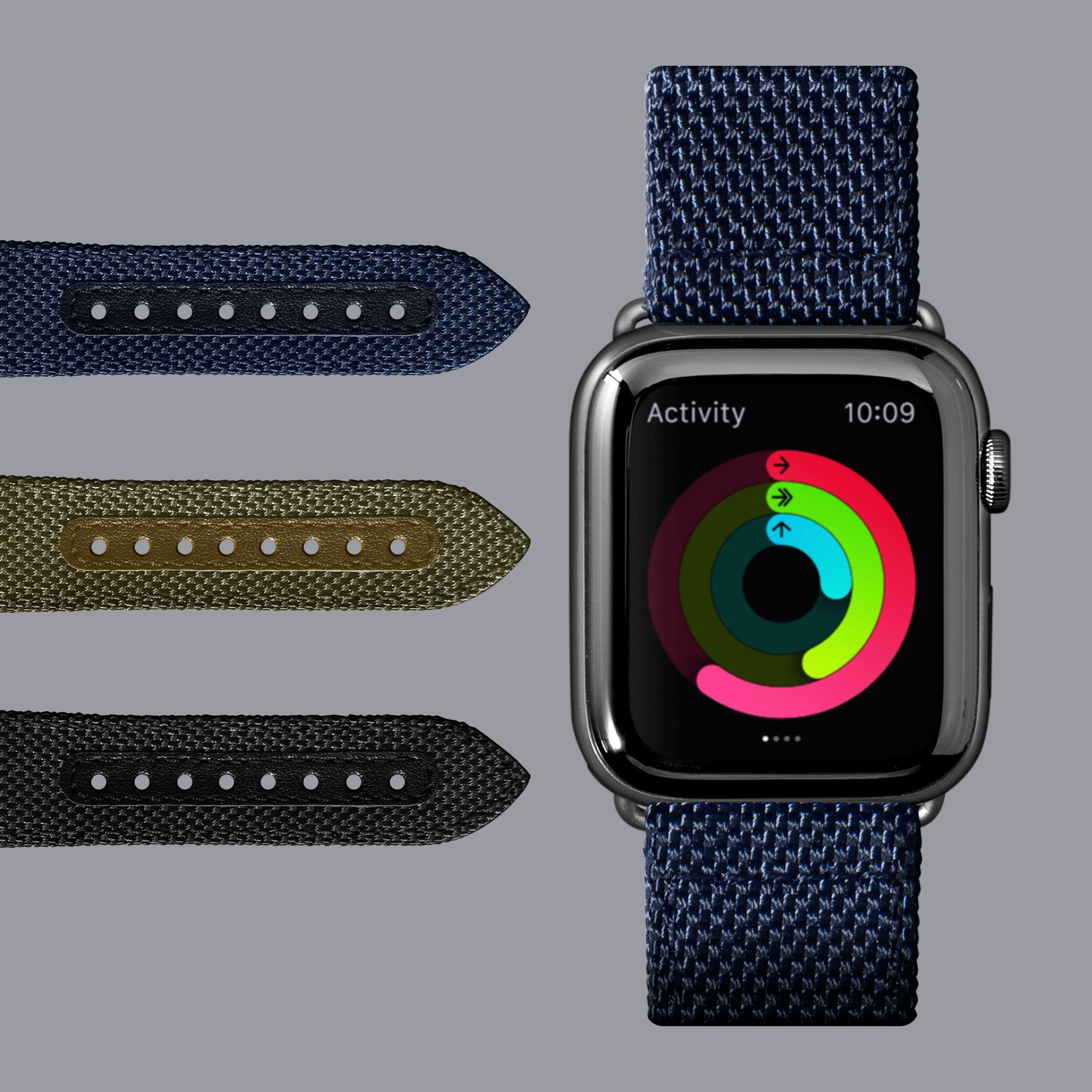 Dây LAUT Apple Watch Band 44/42mm TECHNICAL 2.0 (Sr 1/2/3/4/5/6/SE)