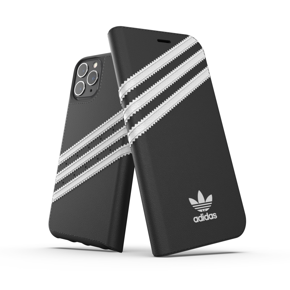 Ốp Lưng Adidas iPhone 11 Pro Max OR Booklet Case PU FW19