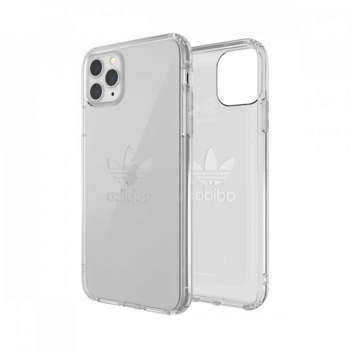 Ốp Adidas iPhone 11 pro Max OR Protective Clear Big Logo FW19