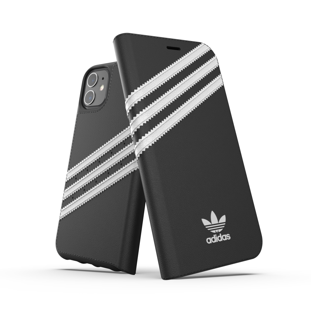 Ốp Lưng Adidas iPhone 11 OR Booklet Case PU FW19