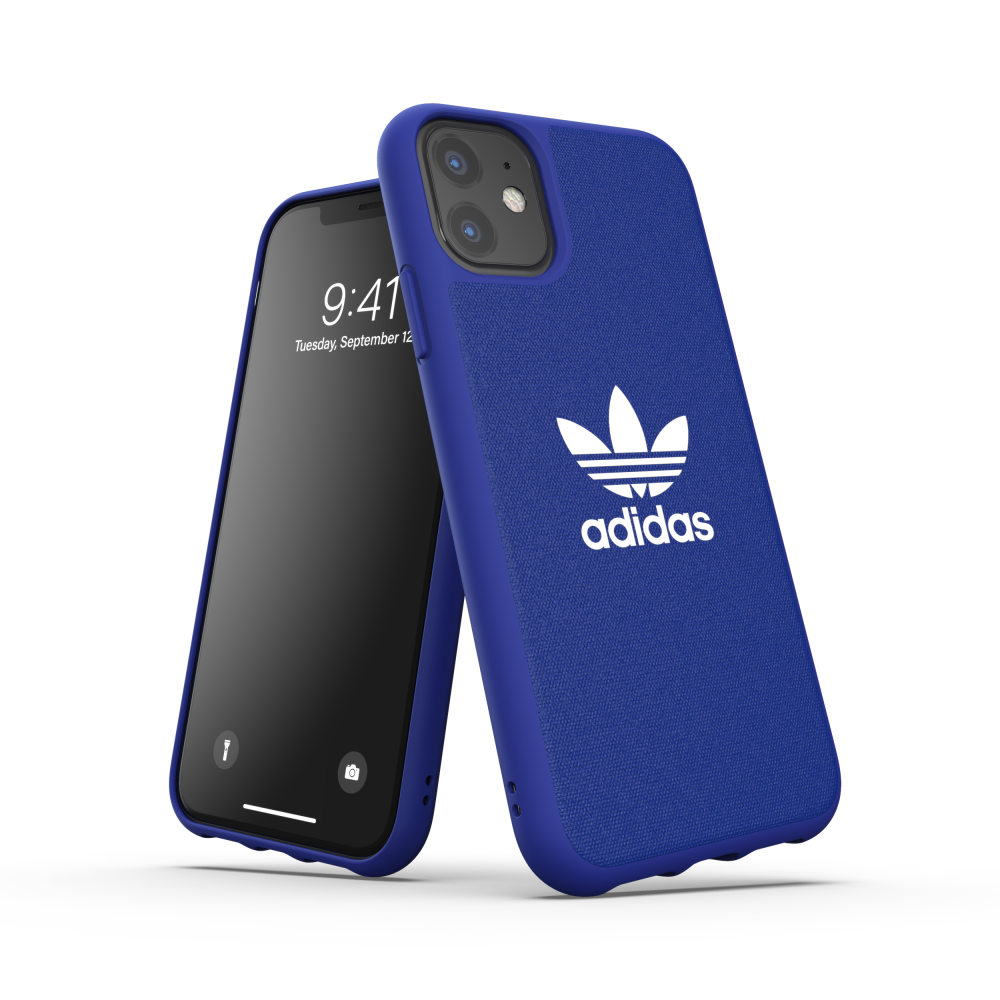 Ốp Lưng Adidas Apple iPhone 11 OR Moulded case CANVAS FW19