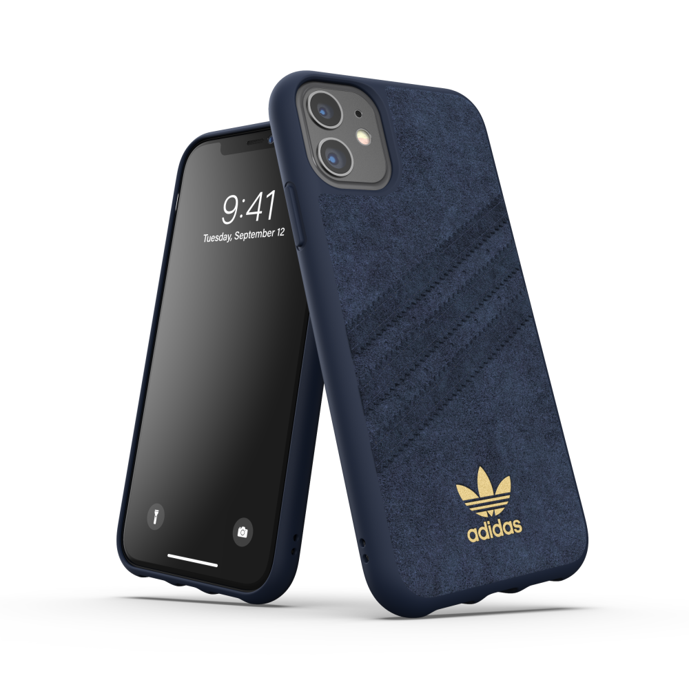 Ốp Lưng Adidas iPhone 11 OR Moulded Case Ultrasuede FW19