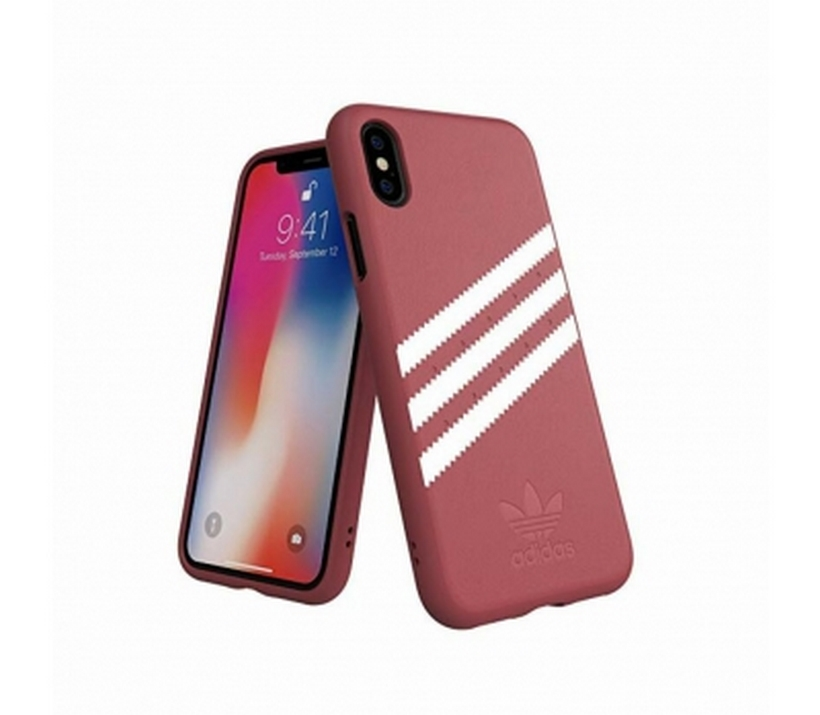 Ốp Iphone X/XS 3-Stripes Adidas OR Moulded Case PU SUEDE