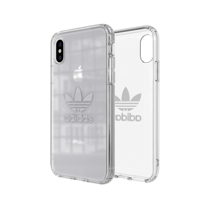 Ốp Lưng Adidas OR Snap - ENTRY SS19 for iPhone X/XS clear