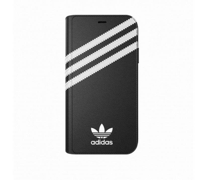Ốp Iphone XR 3-Stripes Snap Adidas Booklet Case PU