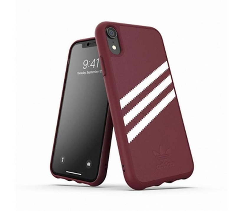 Ốp Iphone XR 3-Stripes Snap Adidas OR Moulded Case PU SUEDE