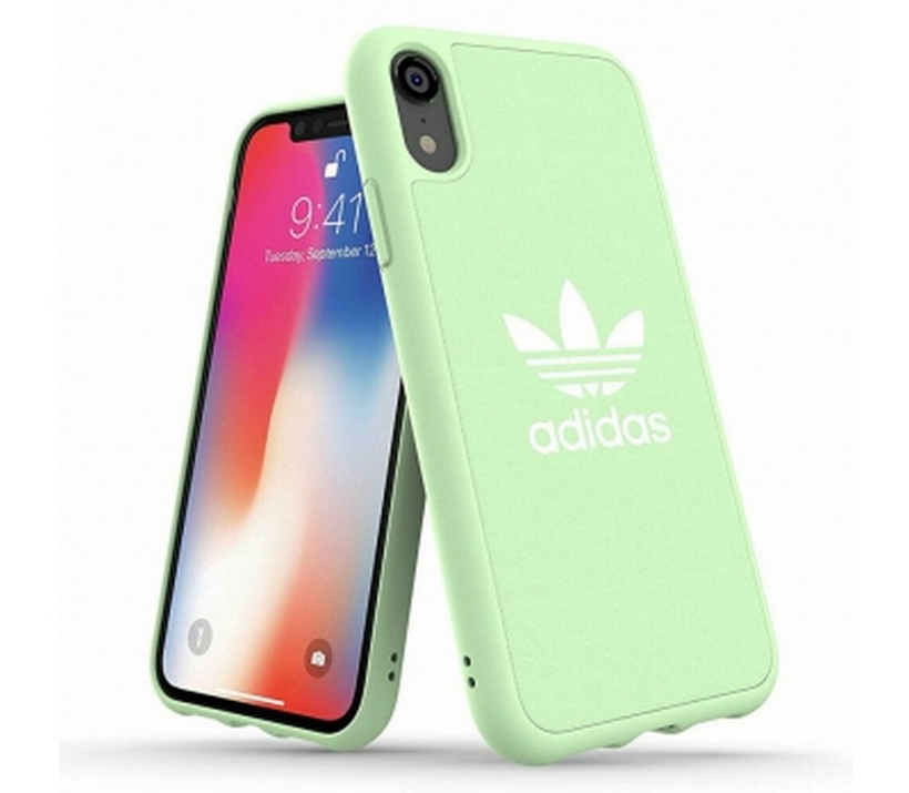 Ốp Iphone XR Trefoil Snap Adidas OR Moulded Case CANVAS