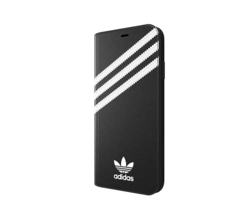 Ốp Iphone XS Max 3-Stripes Snap Adidas Booklet Case PU