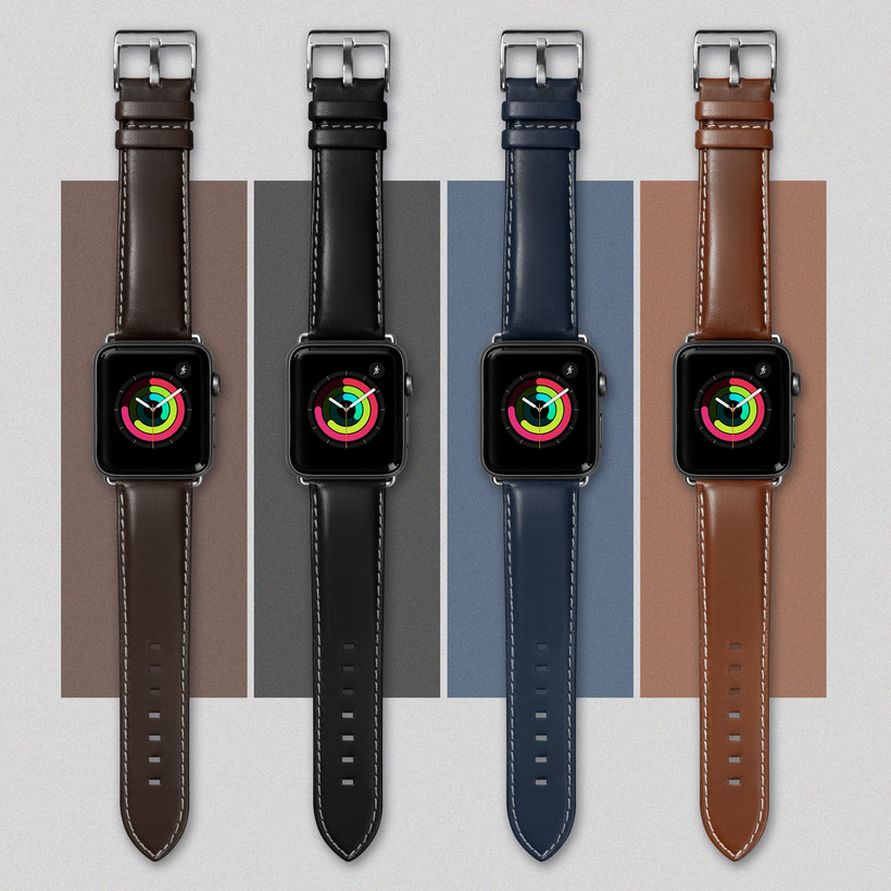 Dây Đeo LAUT Oxford Watch Strap For Apple Watch Series 1/2/3/4/5/6/SE ( 42/44mm )