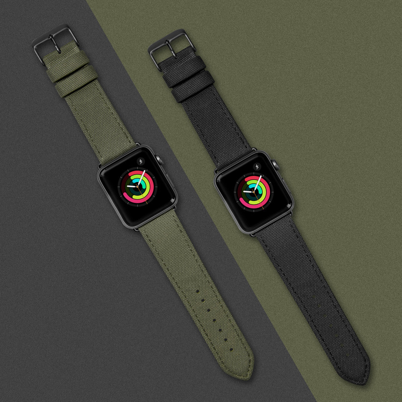 Dây Đeo LAUT Technical Watch Strap For Apple Watch Series 1/2/3/4/5/6/SE ( 40/38mm )