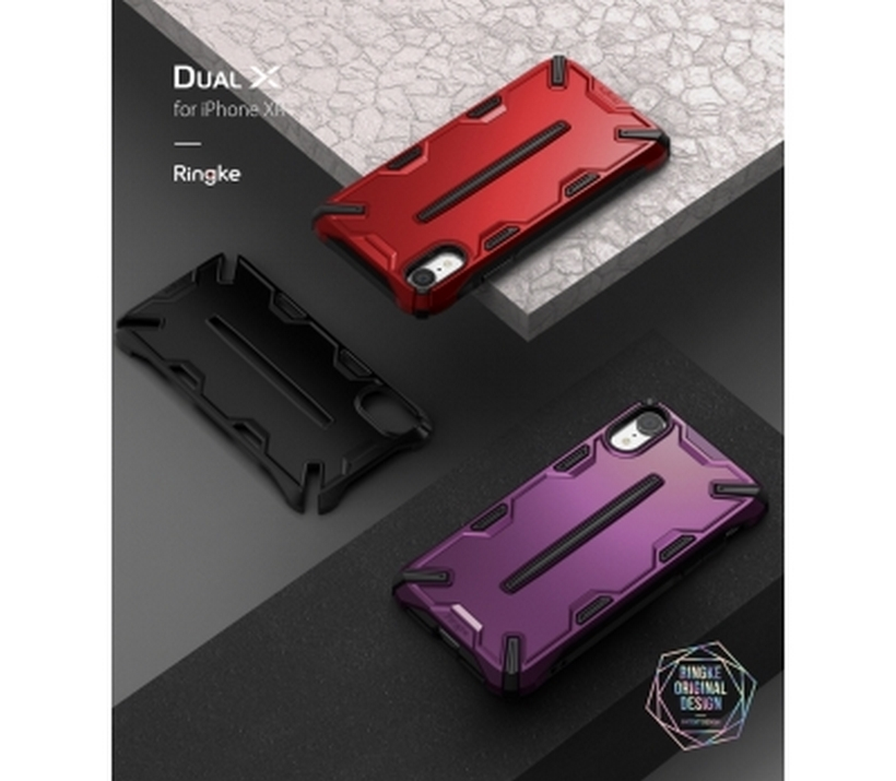 Ốp Iphone XR Ringke Dual X