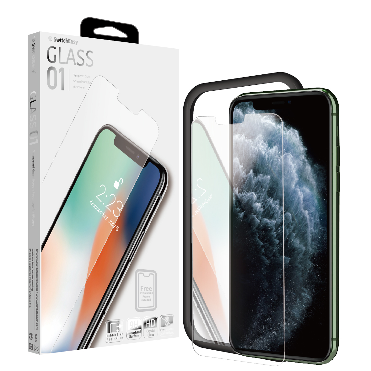 Kính Cường Lực Switcheasy Glass Film for Iphone XS Max/ 11 Pro Max