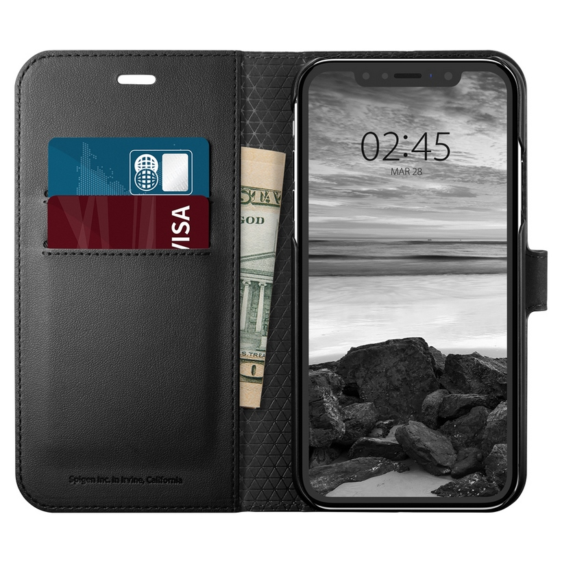 Ốp Iphone XR Spigen Wallet S