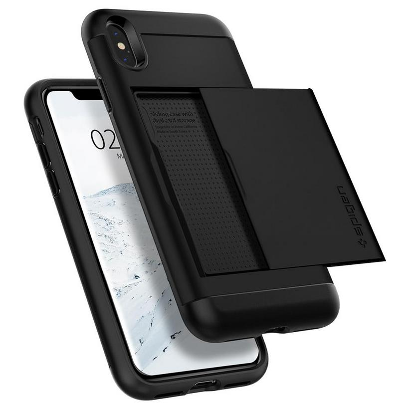 Ốp iPhone XS Max Spigen Slim Armor CS