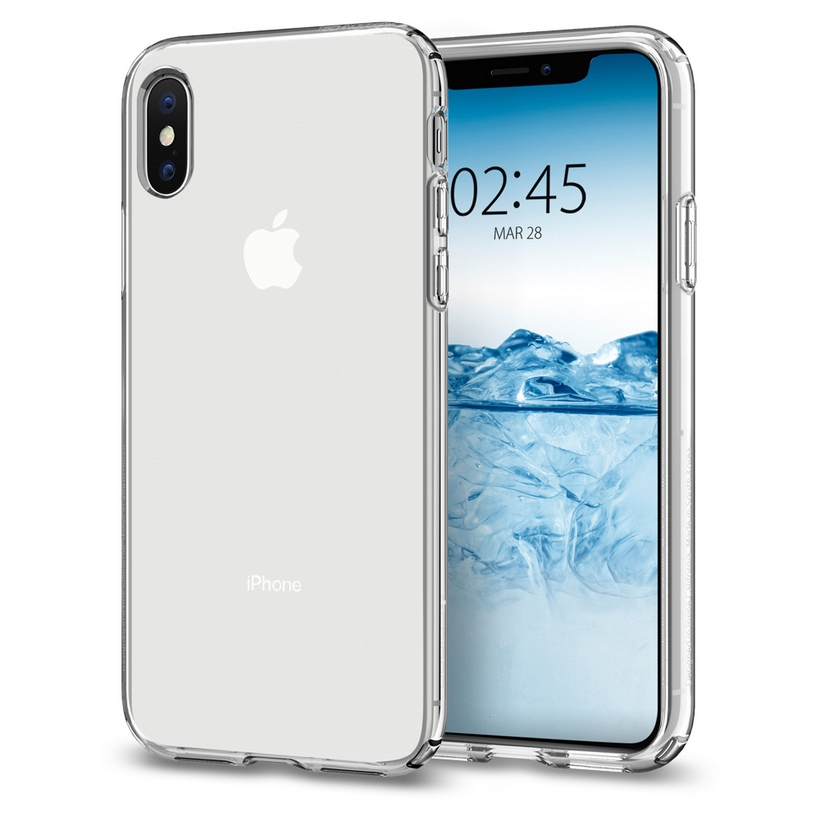 Ốp IPhone XS Spigen Crystal Flex