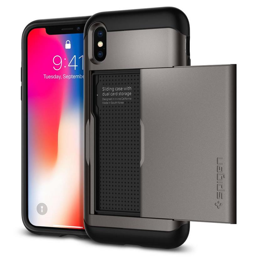 Ốp Iphone XS Spigen Slim Armor CS