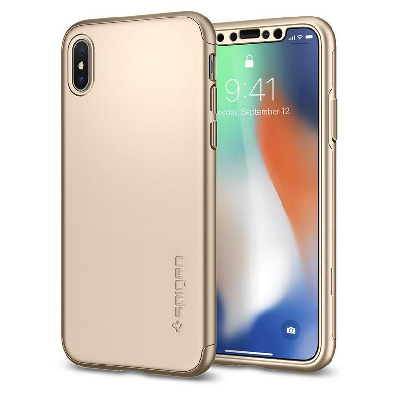 Ốp Iphone Xs Spigen Thin Fit 360
