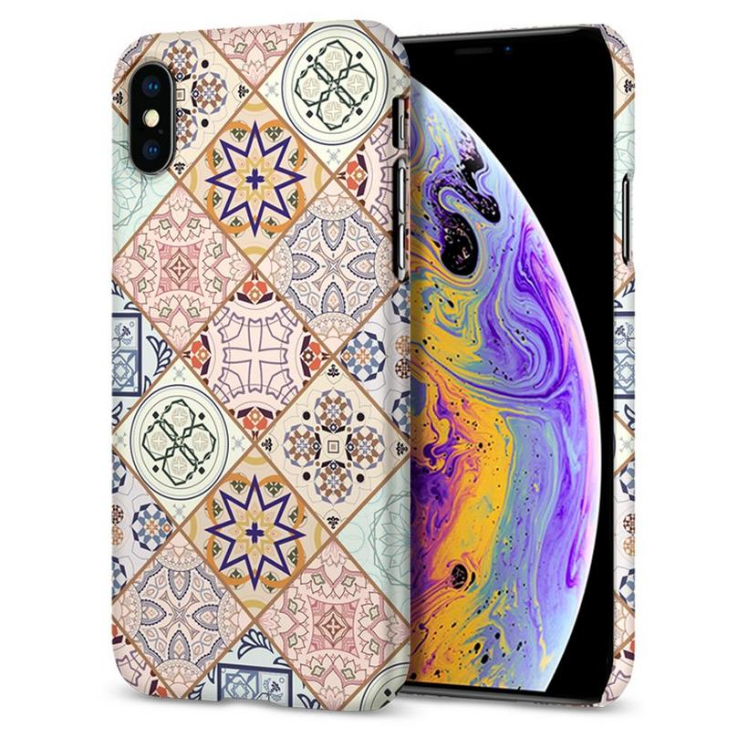 Ốp Iphone X/XS Spigen Thin Fit Arabesque