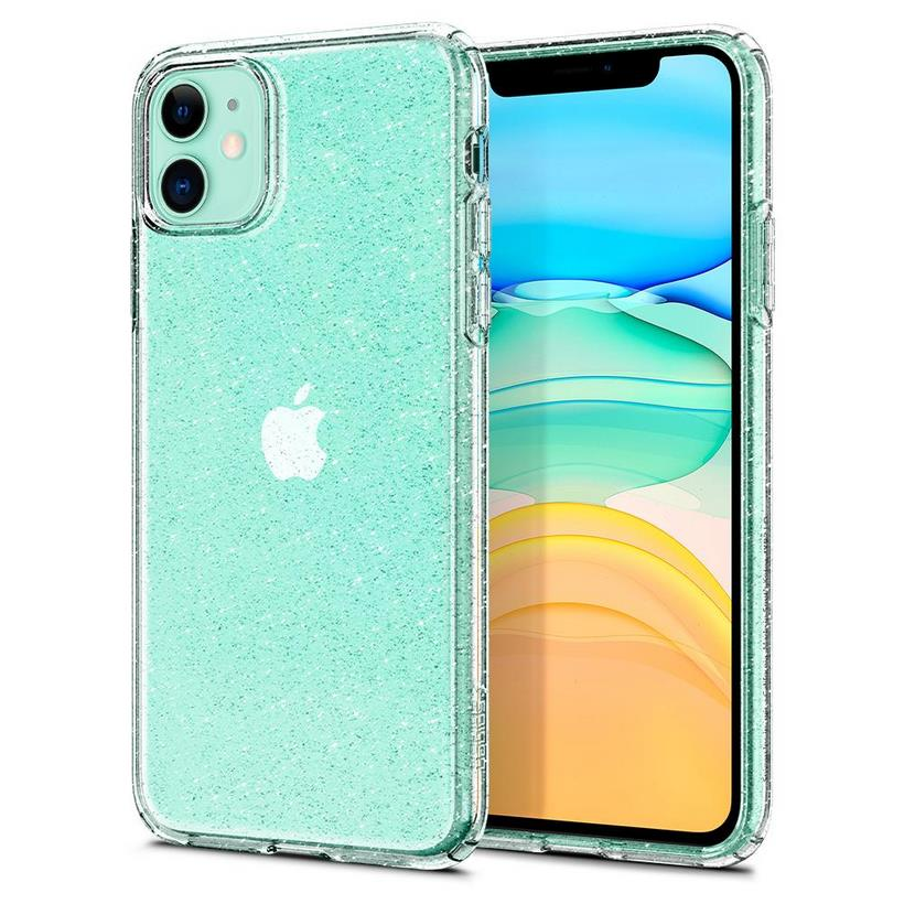 Ốp iPhone 11 Pro Spigen Case Liquid Crystal Glitter