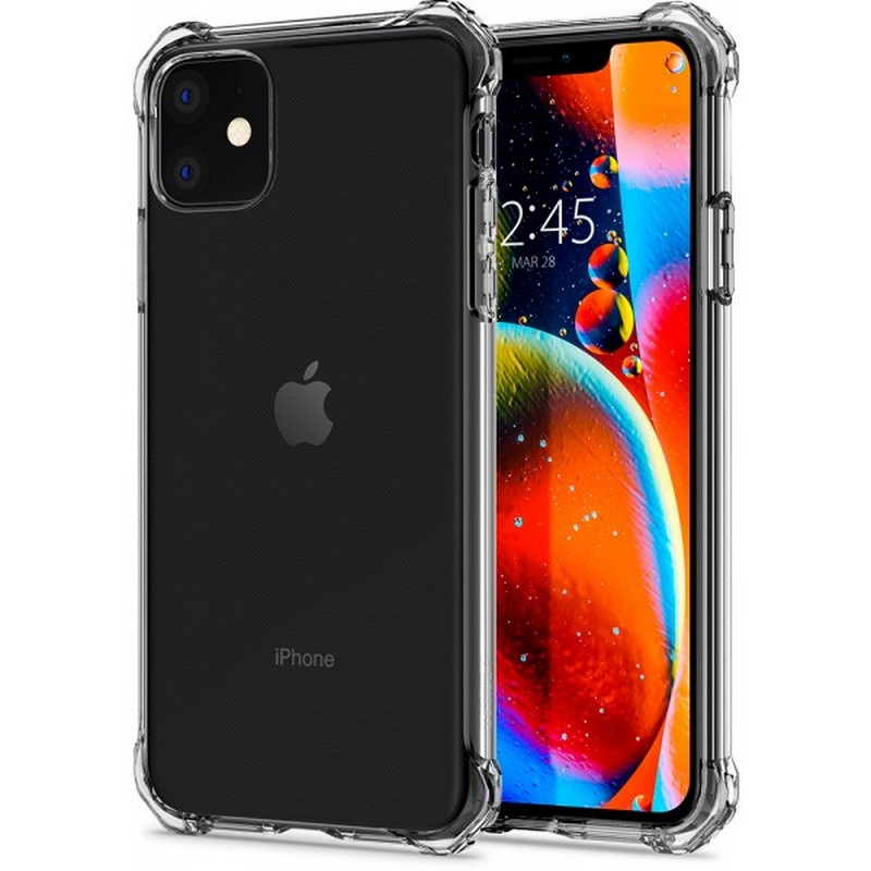 Ốp Spigen iPhone 11 Rugged Crystal
