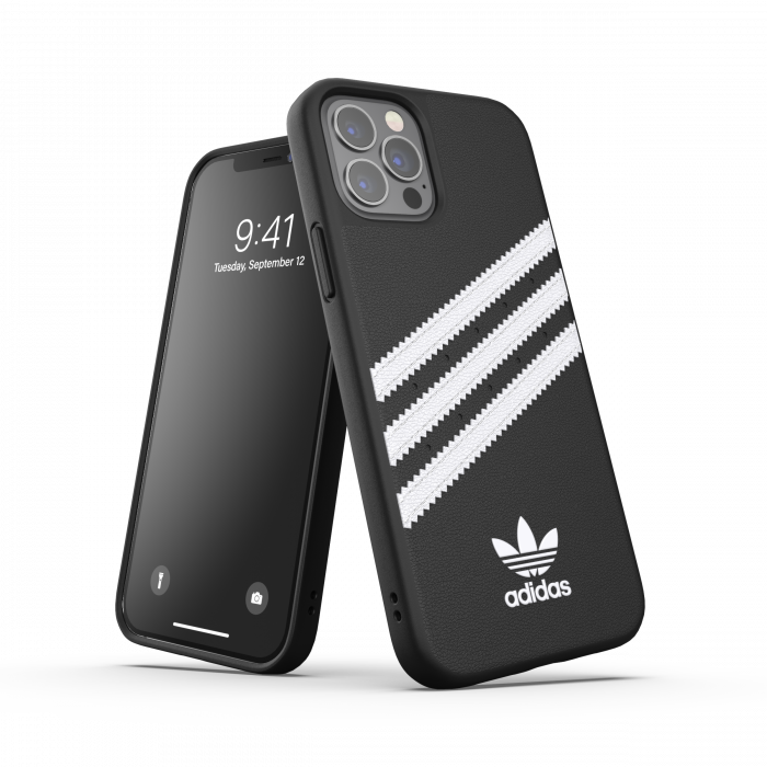 Ốp Adidas OR Moulded 3-STRIPES SNAP Case PU FW20 for iPhone 12/ 12 Pro
