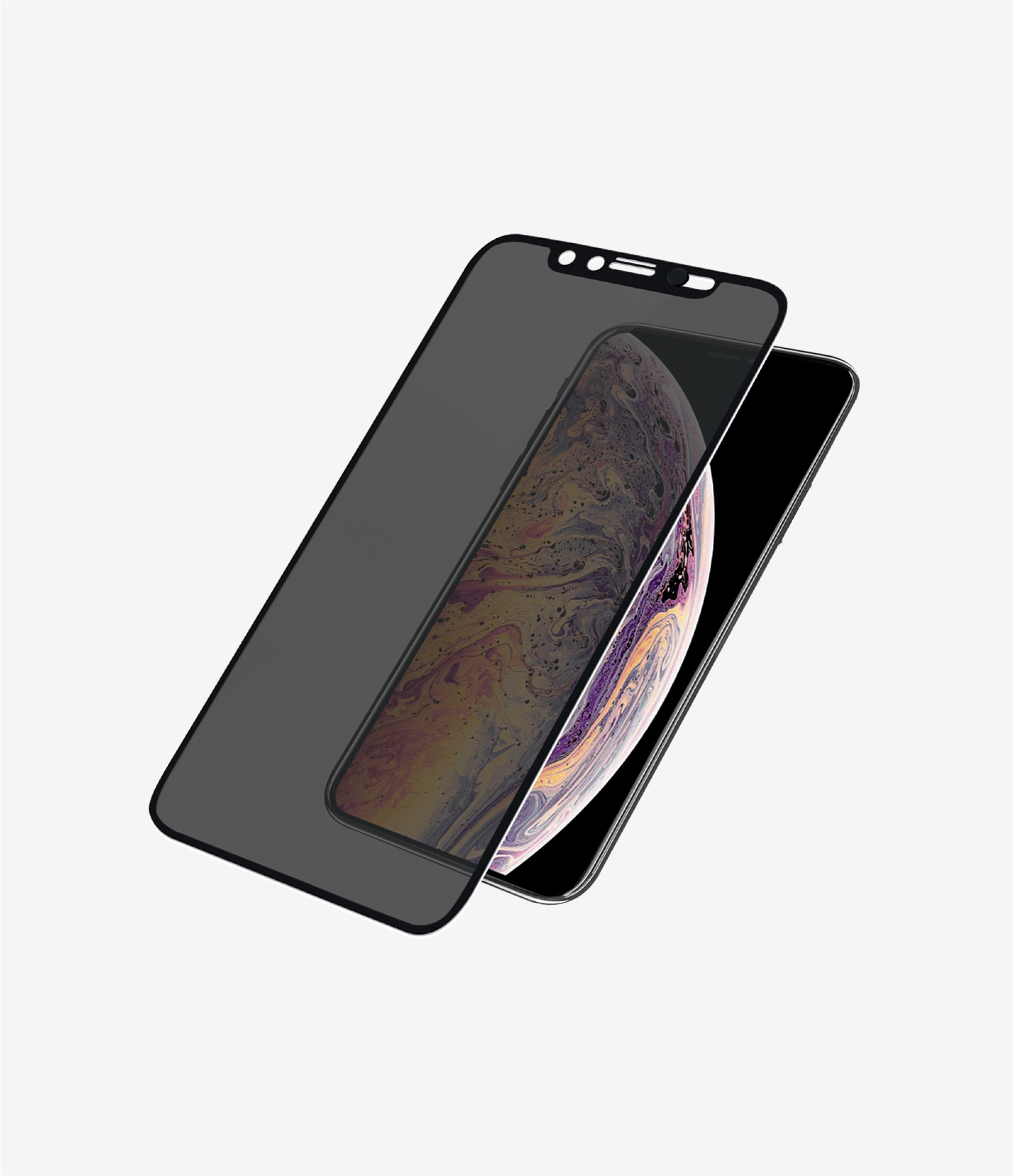 Kính Cường Lực PAZNZER GLASS iPhone Xs Max/ 11 Pro Max Case Friendly Privacy - CamSlider