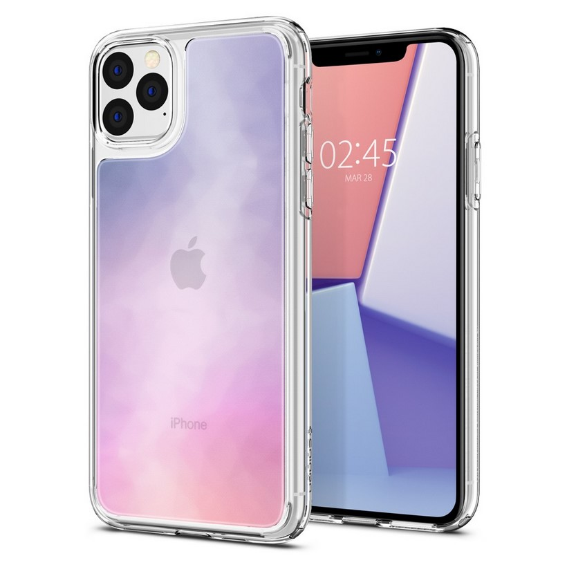 Ốp iPhone 11 Pro Max Spigen Crystal Hybrid Quartz