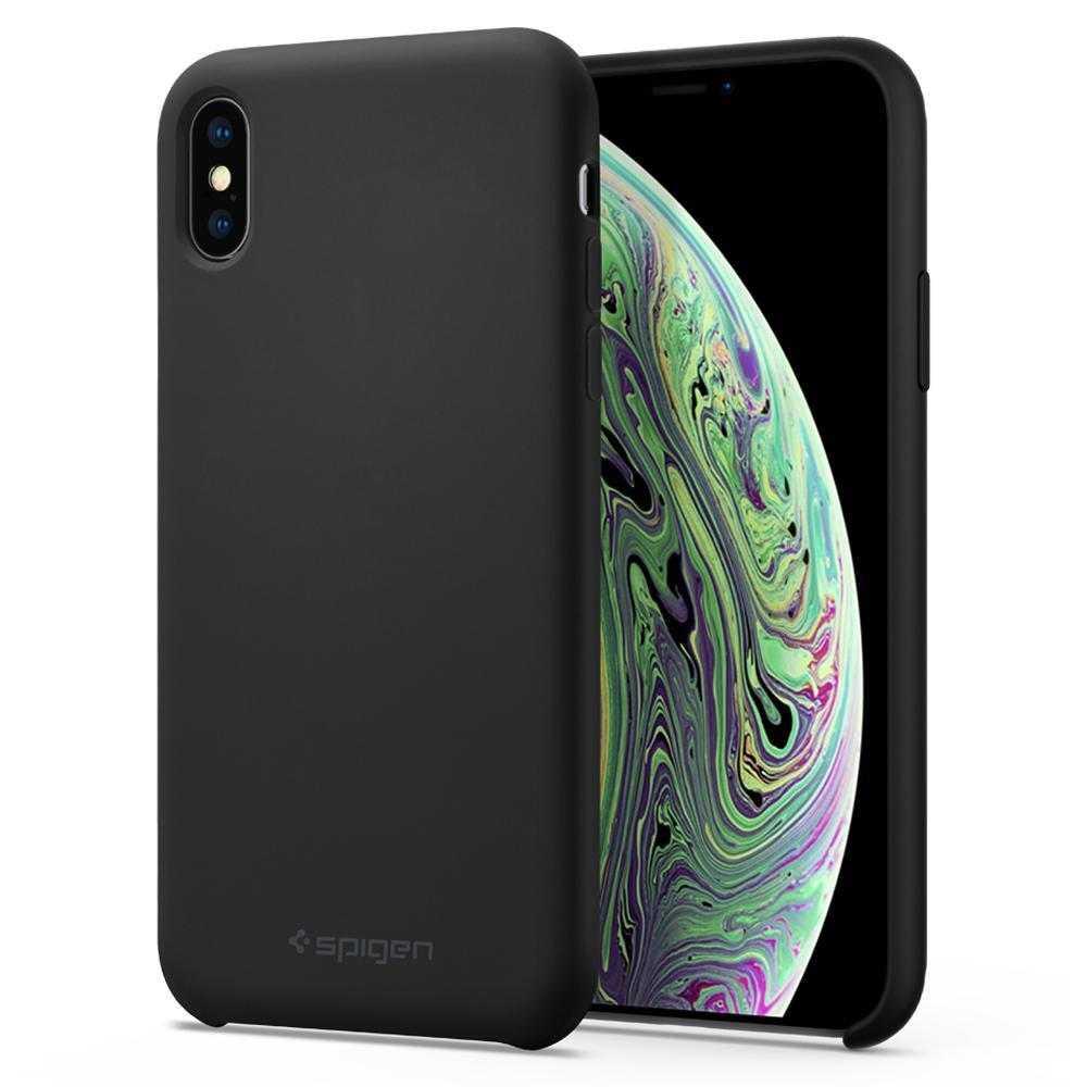 Ốp Lưng Iphone XS/X Silicone Fit